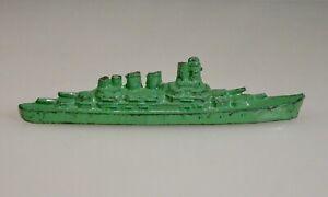 Vintage Tootsietoy Diecast Metal Battleship -  59459