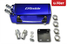 1L SQUARE G-STYLE BILLET ALUMINUM ENGINE OIL CATCH RESERVOIR BREATHER TANK/CAN