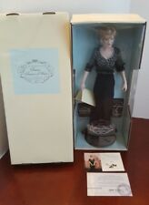 NEW The Franklin Mint Princess Diana of Wales Porcelain Portrait Doll TAG & COA