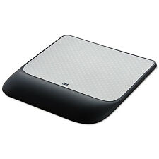 3M Mouse Pad w/ Precise Mousing Surface w/ Gel Wrist Rest 8 1/2x9x3/4 Solid
