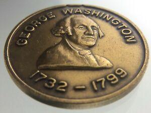 George Washington Medallion 1732-1799 Interwoven is the Love of Liberty W667