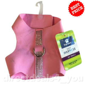 *NEW* Top Paw Vest Harness Pink XX SMALL Girth 10-12 in.