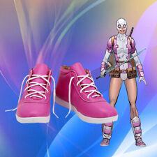 The Avengers Black Widow Cosplay Costume Kostüme Schuhe Shoes Pink Rosa