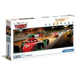 Clementoni Disney Cars Art Collection Panorama Puzzle 1000 Pieces