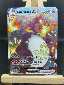 Charizard Vmax SV107/SV122 Shining Fates Shiny Rare Pokemon Card