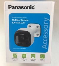Panasonic KX-HNC600W Outdoor Wifi Camera Smart Home Wireless System NEW!