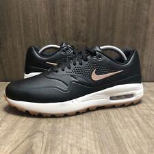 Nike Air Max 1 Golf Shoes Black Gum AQ0865-002 Womens Size 8.5 NEW Spikeless