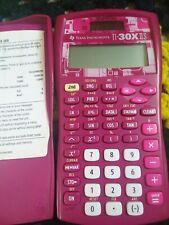 Texas Instruments TI-30X IIS Pink 2-Line Scientific Calculator used