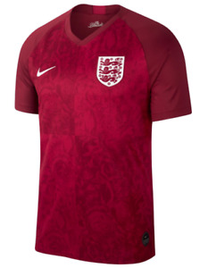 Nike Football Men's Away Jersey England Red SIZE S,M,L New