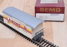 """BEMO 2283 121 carri merci GBK-V 5611 """"VALENTIN""""/MATTONCINI/OVP/traccia h0m"""