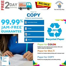 Printer Paper White Recycled 85 X 11 Paper Letter Size Bond Paper 1 Ream