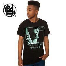 IMKING Freedom Skate T-Shirt Tee Black M NWT NEW RT:$25 35€ Surf Snow Street