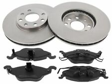 For Vauxhall Astra MK4 German Quality Pair Of Front Brake Discs Pads Set 256mm