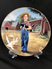 "Shirley Temple Danbury Mint ""Rebecca of Sunnybrook Farm"" Decorative Plate"