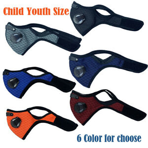 Kids Child Youth Size Outdoor Half Face Shield Filter Mouth-muffle Dustproof