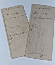 1903 Antique Court Documents Lycoming County PA Fleming Bonnell