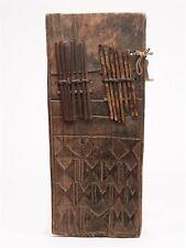 ANTIQUE AFRICAIN SCULPTÉ EN BOIS pouce Harpe 19th C