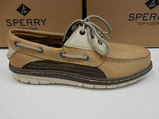 SPERRY TOP SIDER MENS BOAT SHOES BILLFISH ULTRALITE 3-EYE LINEN SIZE 11