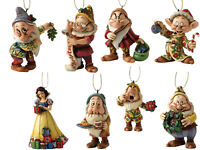 Disney Traditions Hanging Ornament - Snow White & Seven Dwarfs