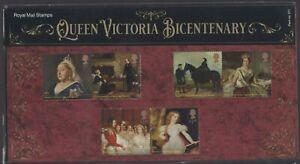 2019  Queen Victoria Bicentenary + Mini Sheet Presentation Pack 571 - Ref:5611
