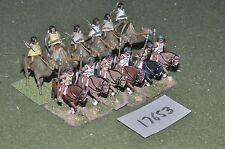 25mm roman era / numidian - cavalry 12 cavalry - cav (17653)