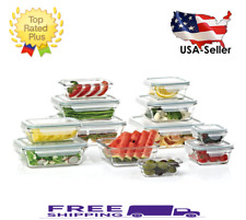 Glass Food Storage Containers for sale | eBay