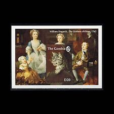 Gambia, Sc #1401, MNH, 1993, S/S, Cats, Animals, A5GID