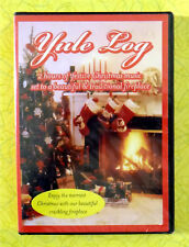 Yule Log ~ New DVD Movie ~ Christmas Holiday Music Songs Fireplace Sealed Video