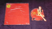 Ex/Ex Aerosmith Jaded  Shaped Vinyl Picture Pic Disc Limited edition