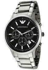 AR2434 New Men's Watches Emporio Armani Classic Watch Stainless Steel Quartz