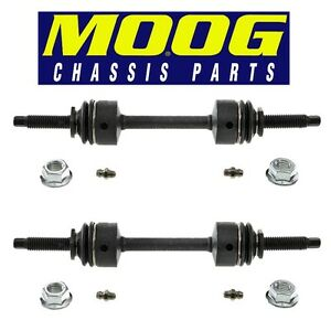 For Ford F150 F250 F450 F550 Pair Set of Front Stabilizer Bar Links MOOG K750362