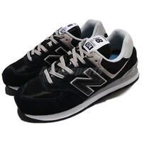 New Balance ML574EGK D 574 Suede Black Grey Men Running Shoes Sneakers ML574EGKD