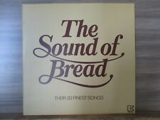 The Sound Of Bread - Their 20 Finest Songs Vinyl LP Compilation UK 1977  K 52062