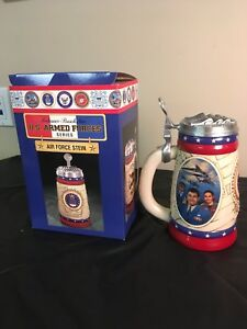 Anheuser-Busch Air Force Stein, U.S. Armed Forces Series, Limited Edition