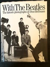 WITH EXTRAS 1982~WITH THE BEATLES~PHOTOGRAPHS OF DEZO HOFFMANN ~BOOK~1ST EDIT