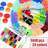 360 Sets KAM Snap Kit T5 Plastic Snaps Fastener Buttons Press Stud w/