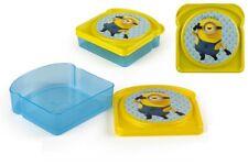 Sandwich Box Brotdose Lunchbox Kindergarten KiTa Schule Minions