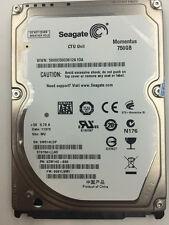 "Seagate ST9750420AS 750 GB HDD 2.5"" 16 MB 7200 RPM SATA Laptop Festplatten"