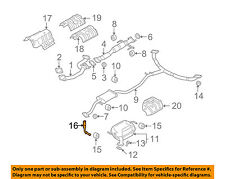 MAZDA OEM 08-15 CX-9 3.7L-V6 Exhaust-Muffler Hanger L3D140166