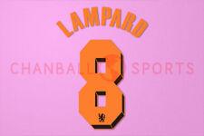 Lampard #8 2010-2011 Chelsea UEFA Champions League Awaykit Nameset Printing
