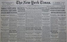 4-1931 APRIL 26 HERRMANN DIES TAMMANY MUSSOLINI. HAITIS ENVOY DENIES BUTLER SLUR