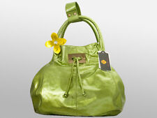 New Zufi Alexander Green Patent Leather Hobo