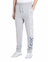 Calvin Klein Jeans Men's Rebel Sport Logo Joggers Sweatpants Size XL Gray NEW