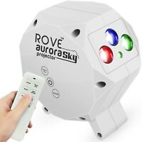 ROVE Aurora Sky Galaxy Projector - Laser Star Projector with Built-In BT Speaker