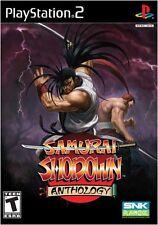Samurai Shodown Anthology PS2 New Playstation 2