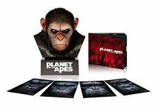 Planet of the Apes: Caesars Warrior Collection (Blu-ray Disc, 2014, 4-Disc Set)