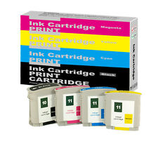 4 HP 10 11 INKs Designjet 10PS 20PS 50PS 500 500PS 800