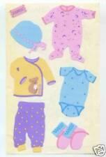 MRS GROSSMANS FABRIC BABY CLOTHES #1 STICKER SHEET BN