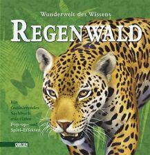 Pop-up-Bücher: Wunderwelt des Wissens - Tiere im Regenwald von Claire Brampton (2010, Gebunden)