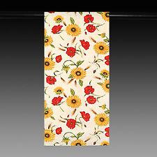 großer Tischläufer, Sonnen-/Mohnblumen 100 % Bauwolle Neu Provencestil, 43x235